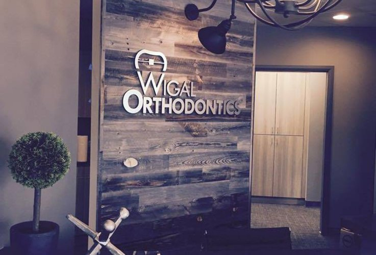 Front entrance Wigal Orthodontics