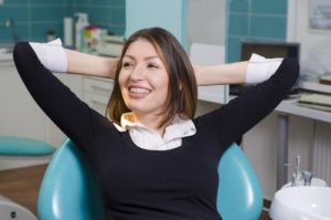 woman over 40 with braces